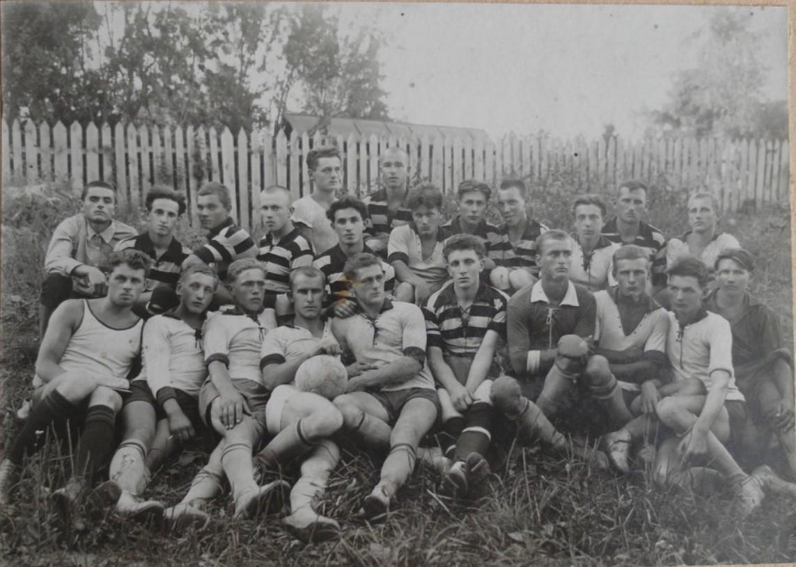 1929. Календарная встреча по футболу на первенство Глуховского округа