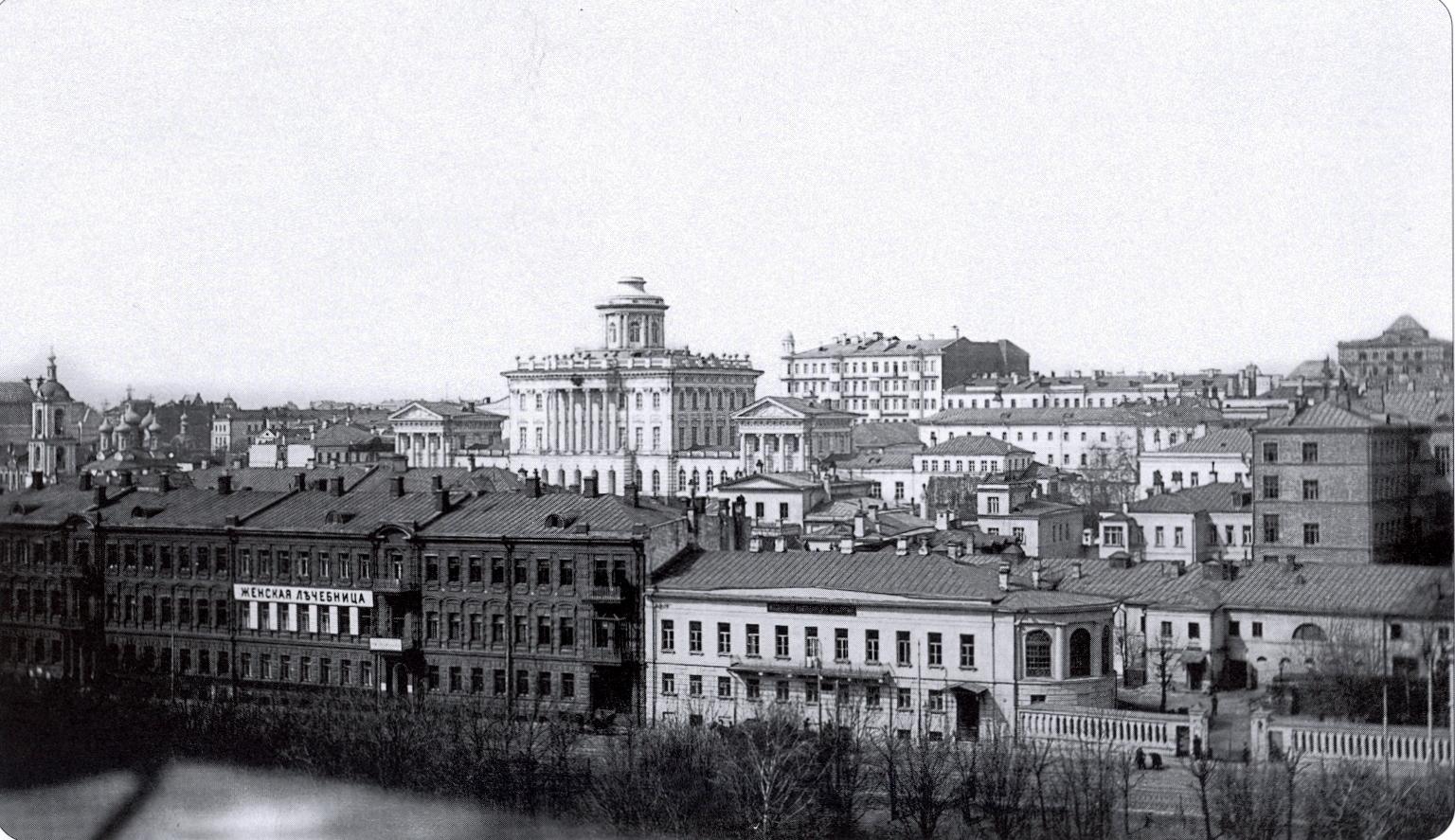 Вид на Москву с Кремлёвской стены