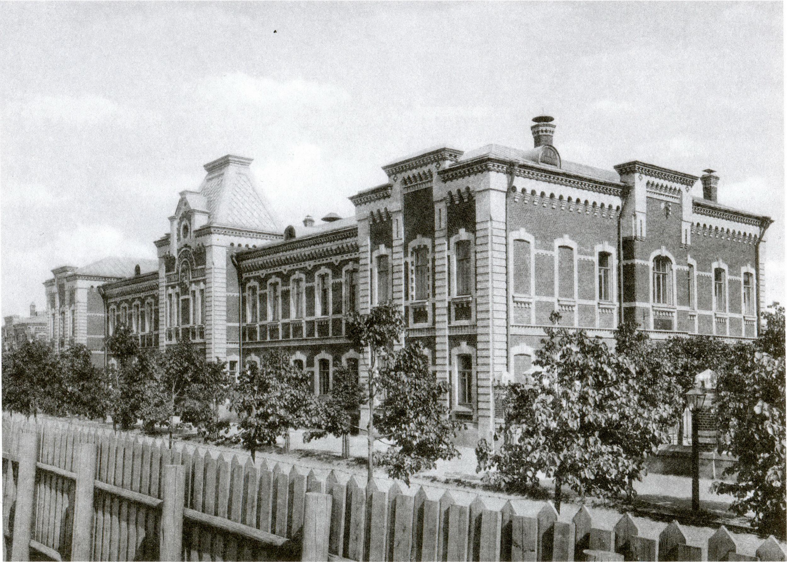 Сокольническая больница. Главный корпус