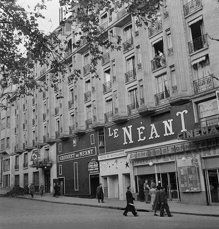 «Кабаре Небытия» (Cabaret du Néant), рю Кусто 2