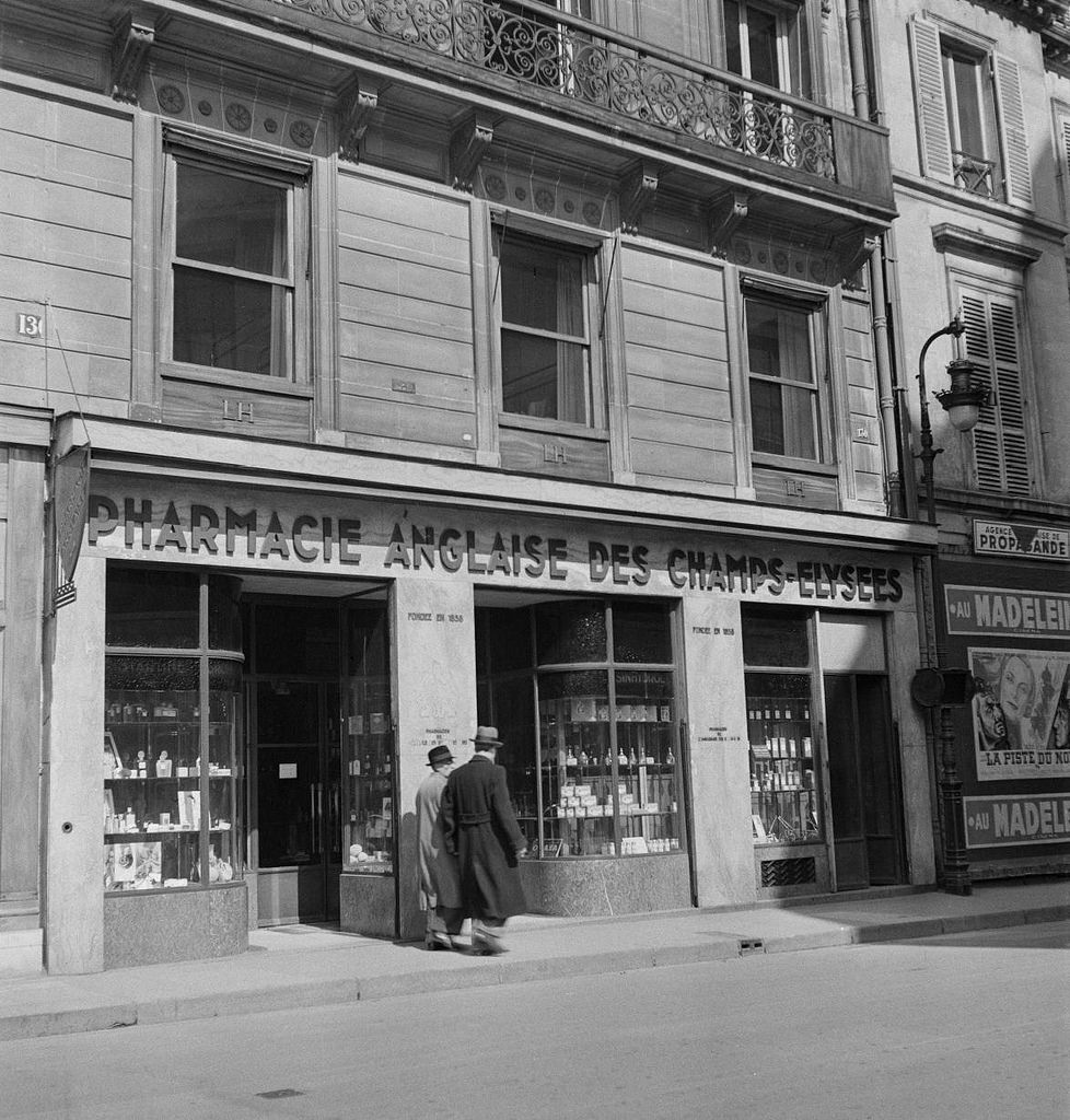 Английская аптека Елисейских полей