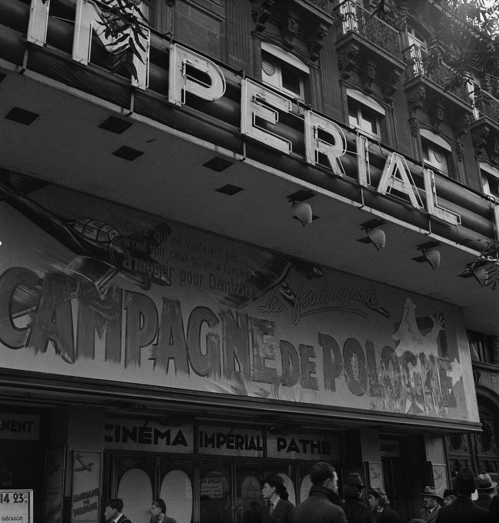 Кинотеатр «Империал». Итальянский бульвар 29