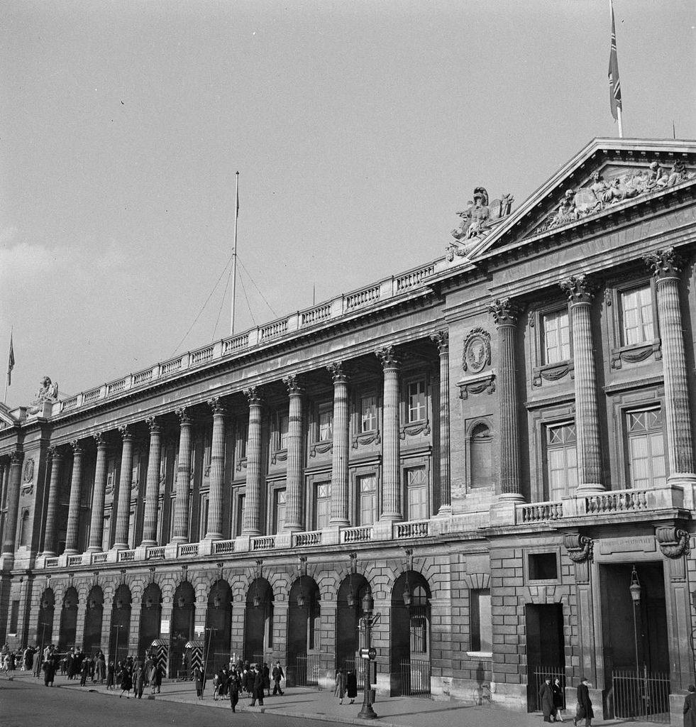 Министерство ВМС, площадь Согласия