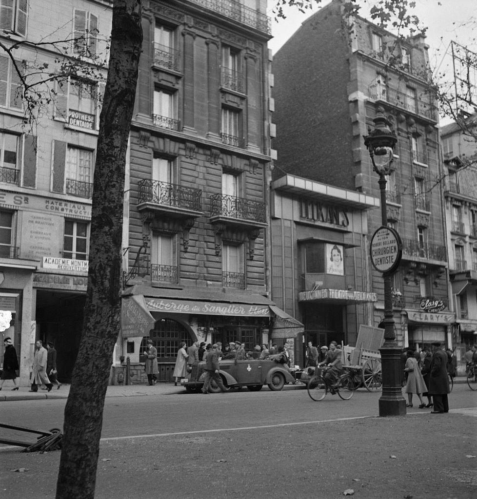 Ресторан «Le Sanglier Bleu». Бульвар Клиши 102