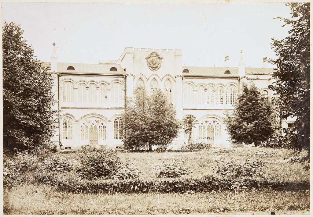 Северный фасад усадебного дома