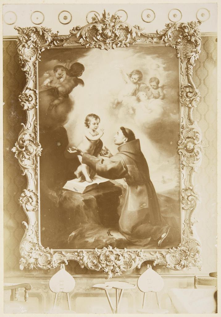 артоломе Эстебан Мурильо. Видение св. Антония Падуанского. Испания, между 1660—1680 годом