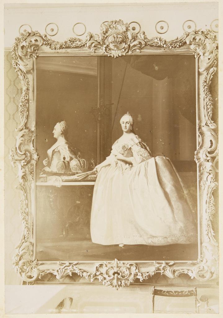 Портрет Екатерины Великой, работы Эриксена Вигилиуса (1722—1782, в России 1757—1772)