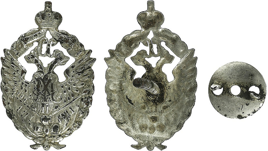 Знак 118-го пехотного Шуйского полка (для нижних чинов)