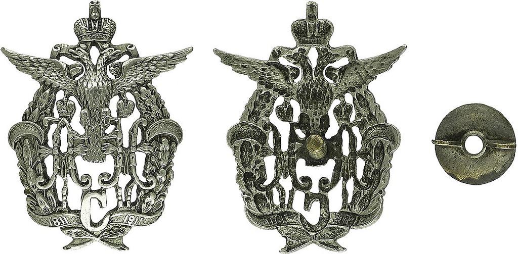 Знак 183-го пехотного Пултусского полка (для нижних чинов)