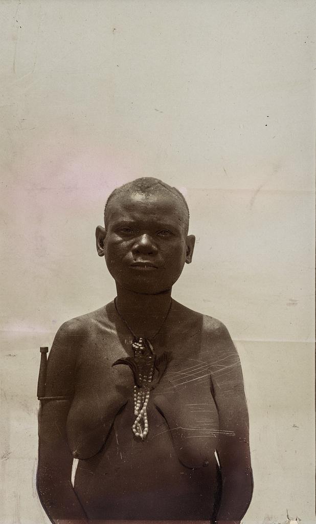 Антропометрическое изображение женщины