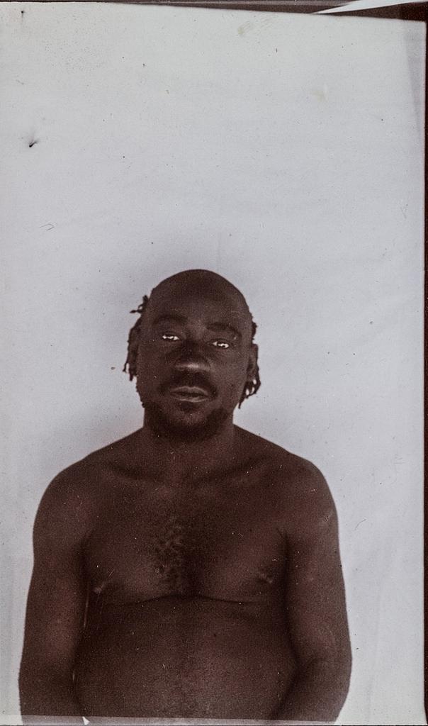 Антропометрическое изображение мужчины.