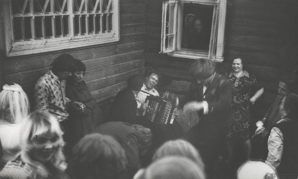 1968. Деревенская свадьба