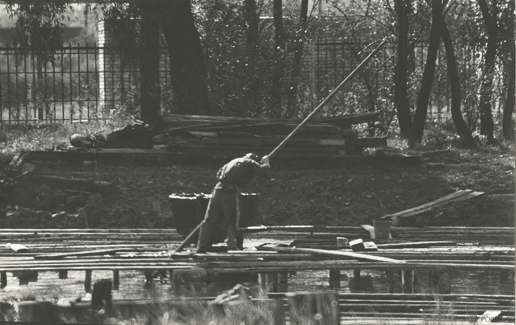 1983. Работа (Новгородская губерния. Санаторий, грязелечебница - Старая Русса)