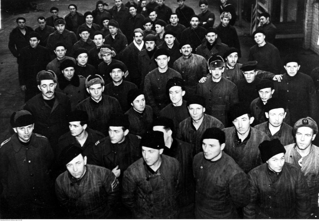1941-1942. Добровольцы польской армии в СССР