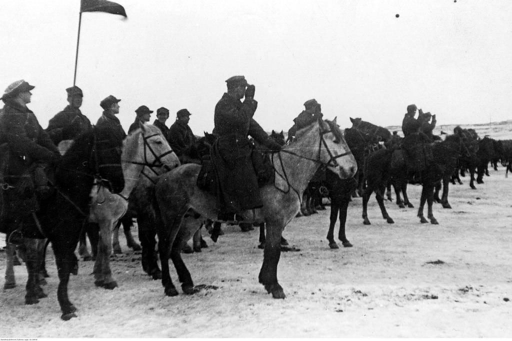 1942. Учения польской армии в СССР. Кавалерия