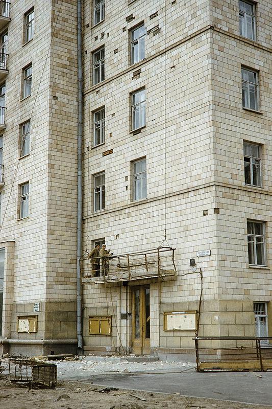 Кутузовский проспект, 12. Возведение жилого здания