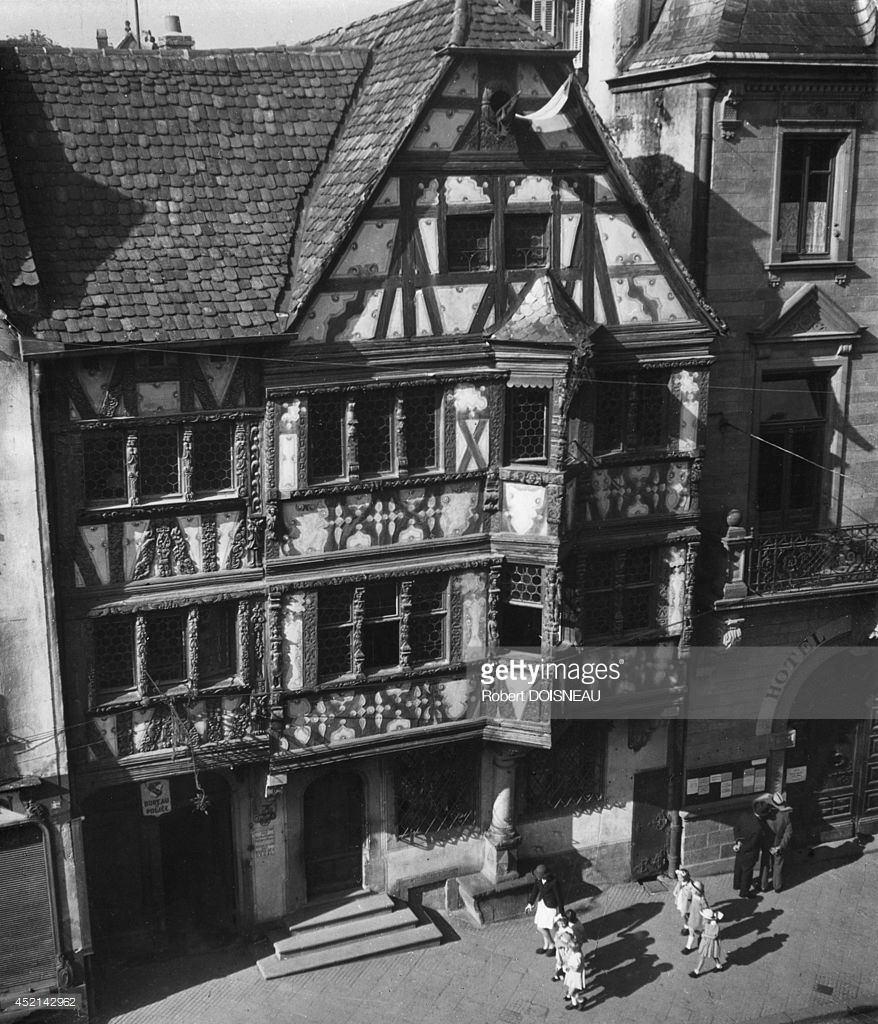 1945. Деревня Саверн в Эльзасе