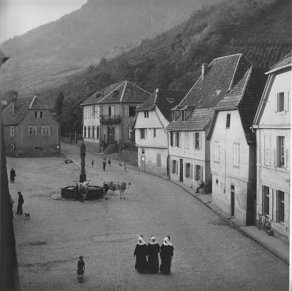 1945. Рибевиль, Эльзас