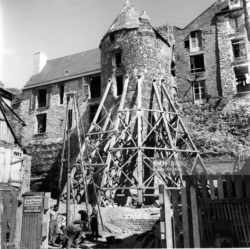 1962. Ремонт дома в Ле-Мане