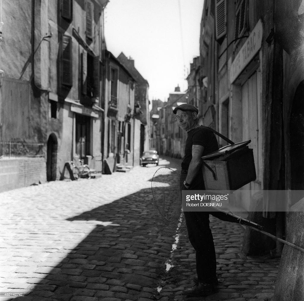 1962. Рыбак из города Ле-Ман