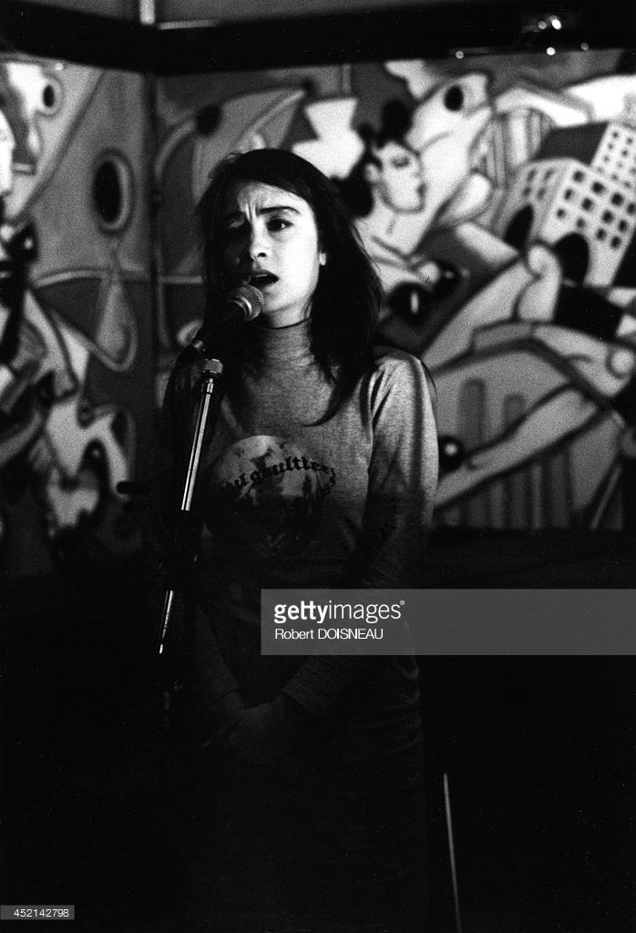 1988. Портрет участников рок-группы «Рита Мицуко»