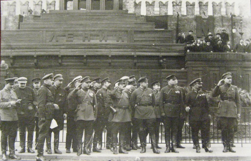 1920-е. Ворошилов, Уншлихт, Егоров, Тухачевский, Корк, Будённый