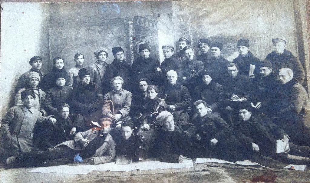 1924. Участники похорон В.И.Ленина