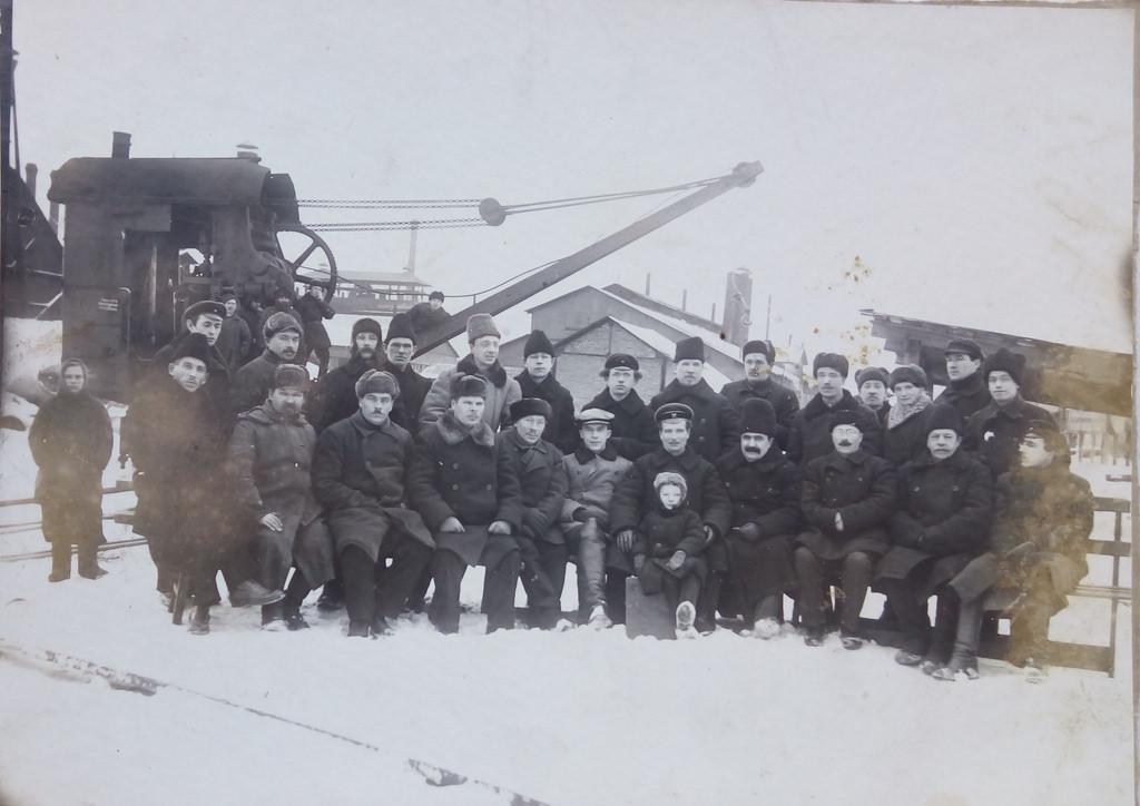 1926. Чусовая. По случаю отъезда С.М.Курочкина