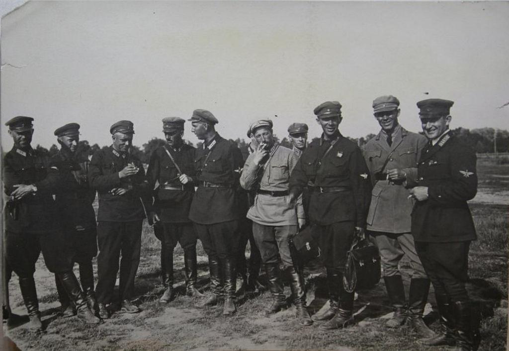 1930-е. Офицеры ВВС СССР