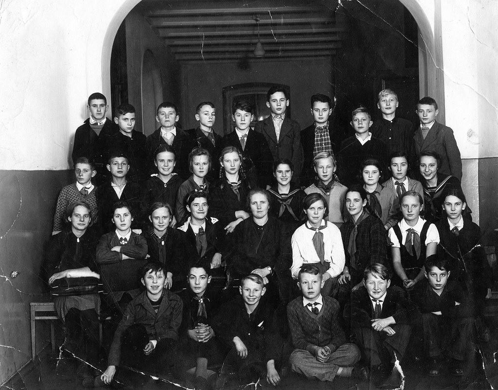 1941. В школе, Сокольники