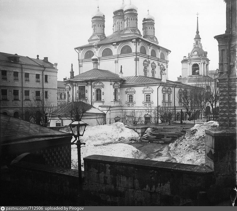 Варварка. Знаменский монастырь. 1913