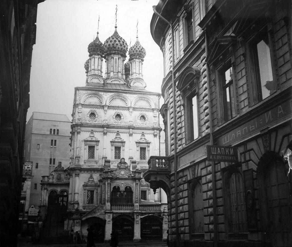Ильинка. Церковь Николая Чудотворца Большой Крест. 1913