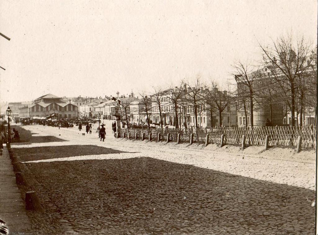 Новинский бульвар и Каковинская площадь. 1897