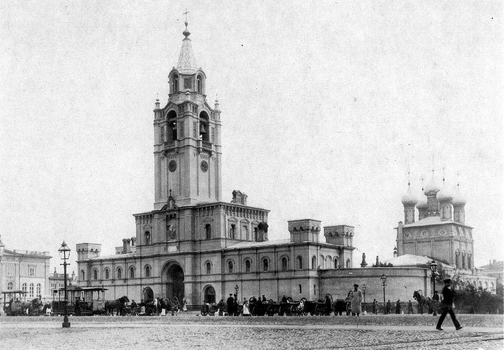 Страстной монастырь. 1890-е