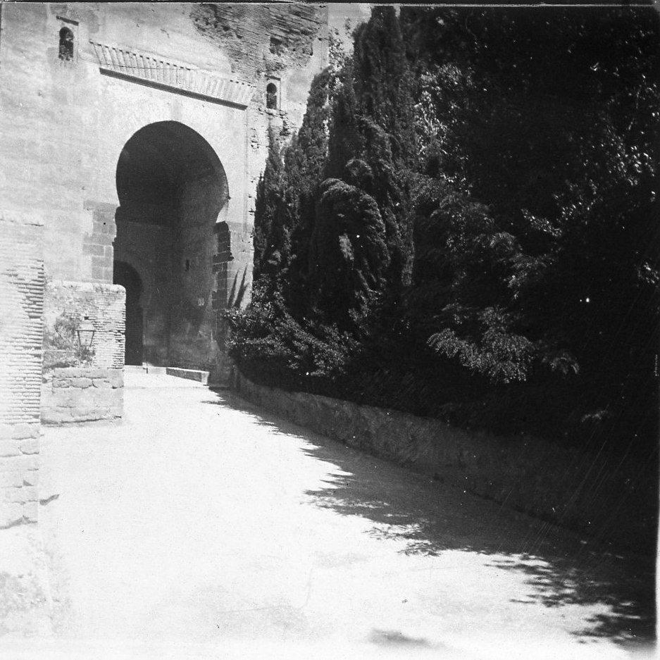 Альгамбра. Вход