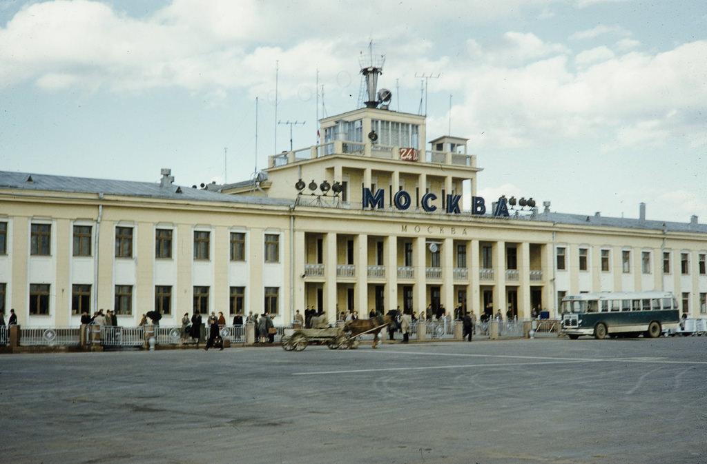 Здание аэропорта Внуково
