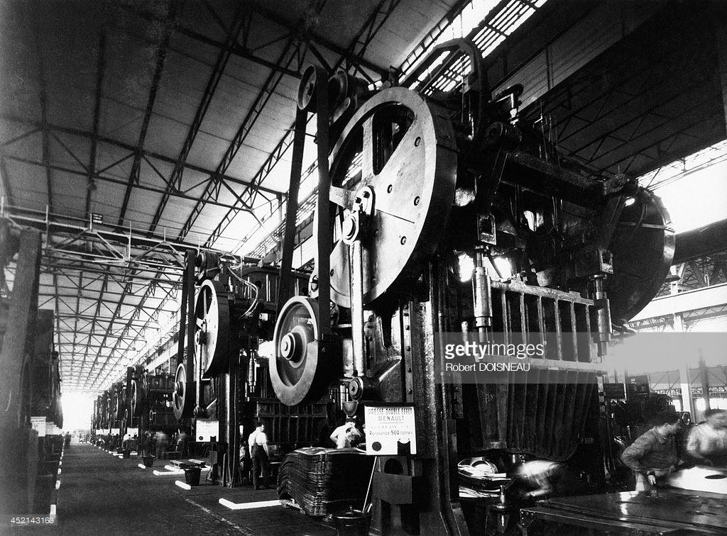 1935. Завод Рено