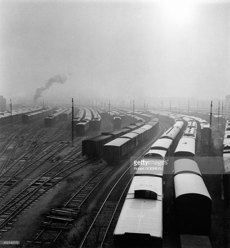 1945. Терминал SNCF в Вильнёв-Сен-Жорж