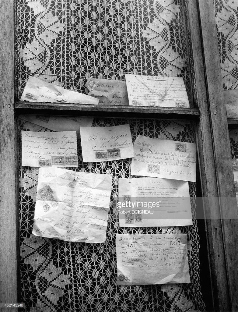 1947. Письма в сторожке консьержа