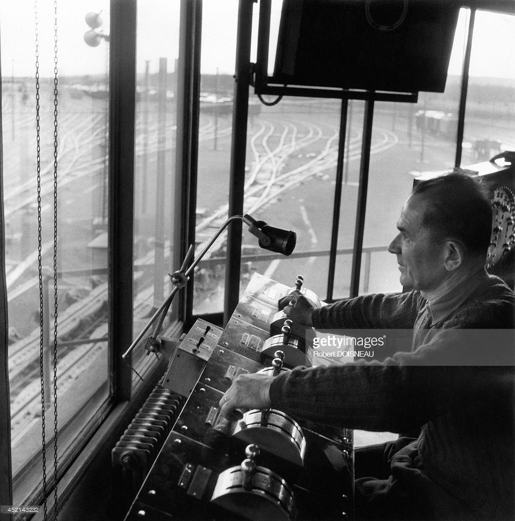 1955. Железнодорожная станция Дижона