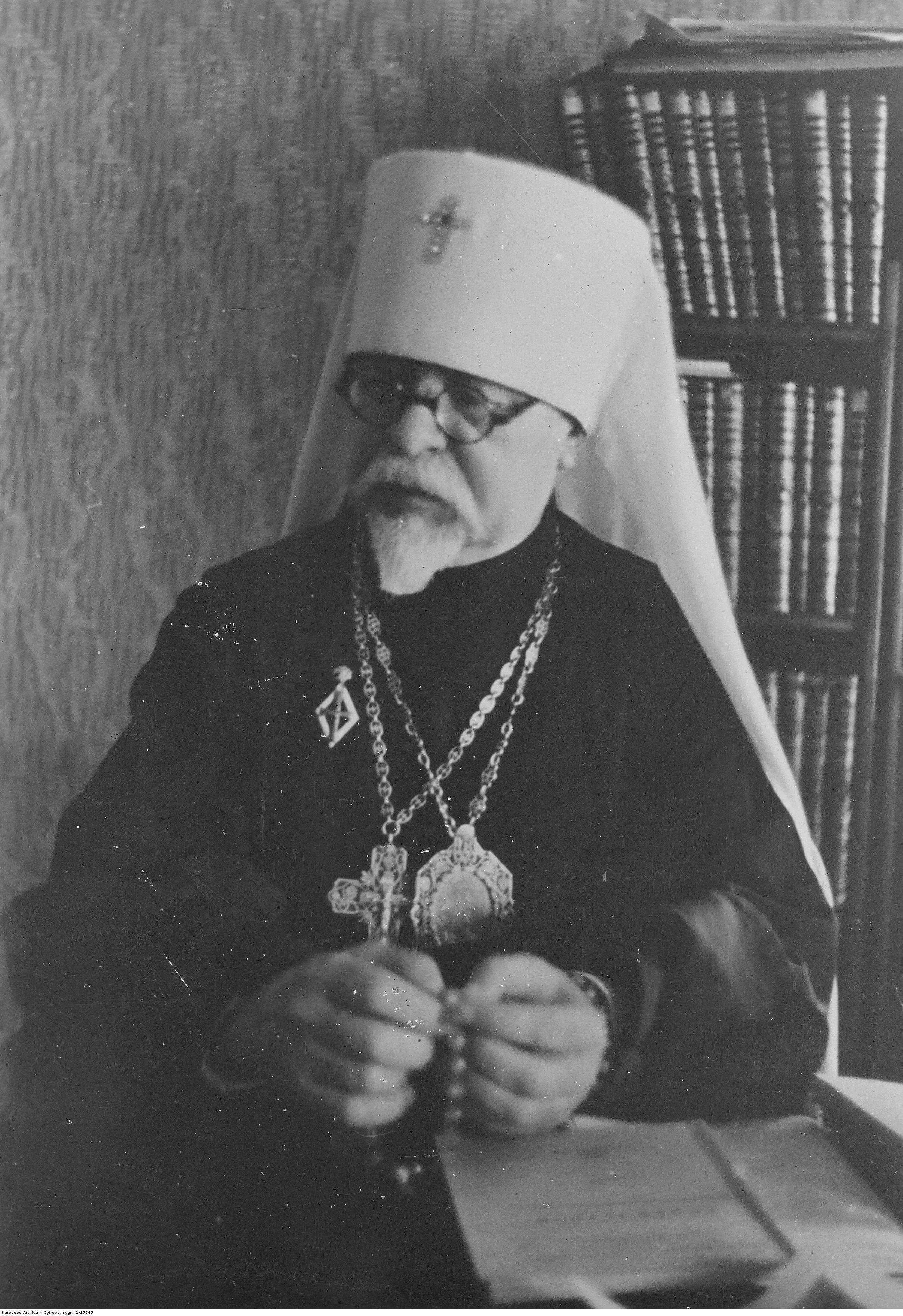 1944. Иларион (Иван Иванович Огиенко), епископ Украинской Автокефальной Православной Церкви в ведении архиепископа Поликарпа