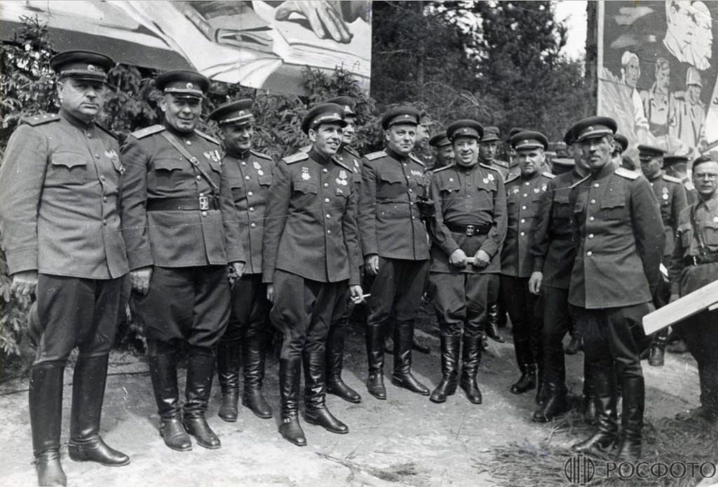1943-1944. Генералитет Ленфронта