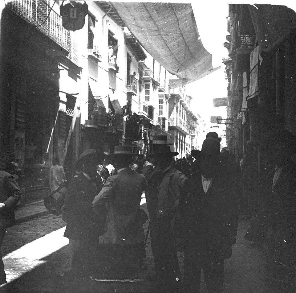 Кадис. Уличная сцена