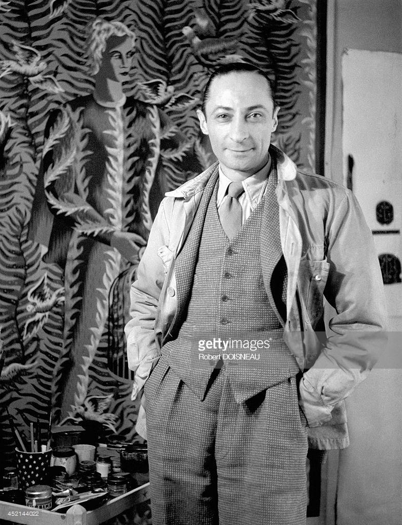 1947. Портрет французского художника и мультипликатора Жана Пикарта