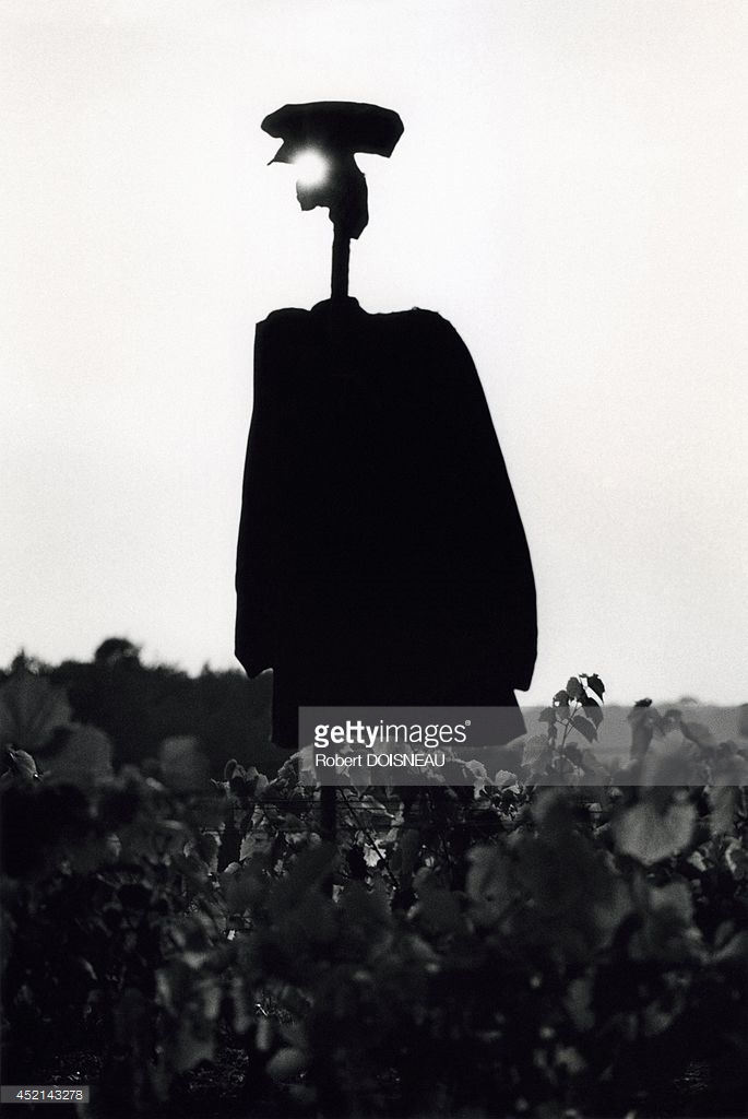 1964. Пугало в Бутье, Сена и Марна. Июль