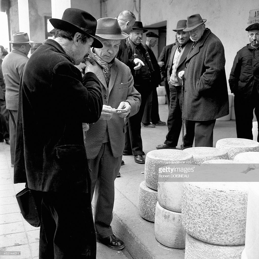1964. Сырная ярмарка в Аврилаке