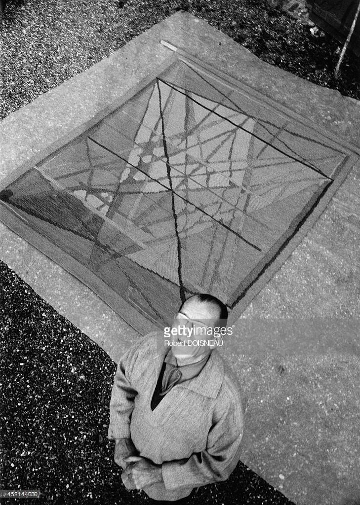 1965. Портрет художника Жака Пласа ле Кейсна в Хау