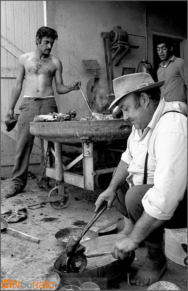 1969. Цыгане-жестянщики в План-де-Грассе. Июнь