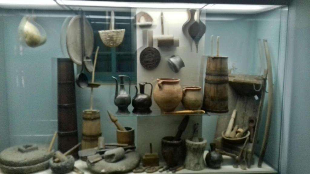 Витрина музея