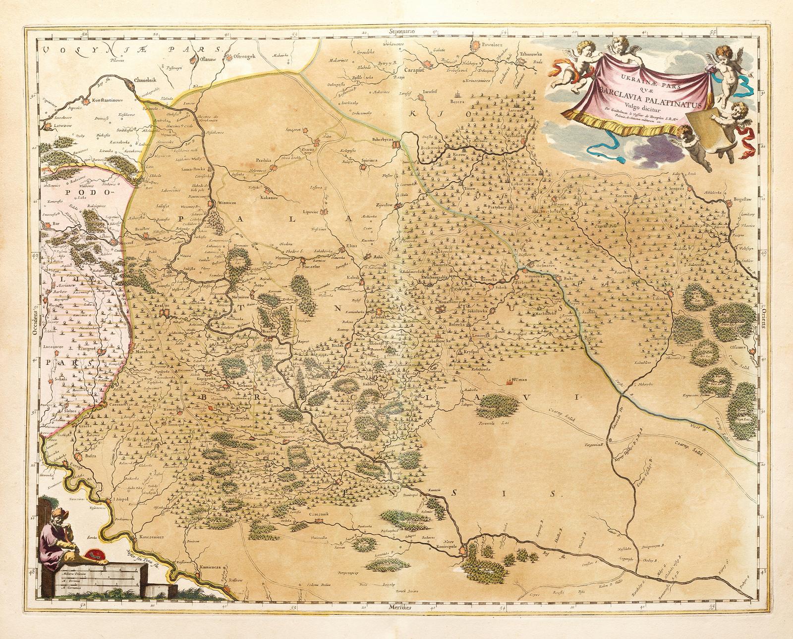 Ukrainae pars qvae Barclavia Palatinatus 1670